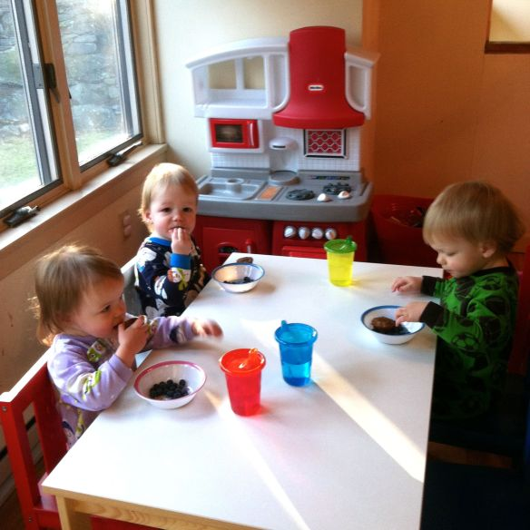 cups, sippy, kids, table, chairs, breakfast, triplets